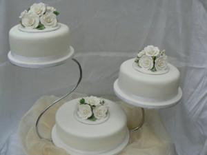 1. Elevated Circle Cake
