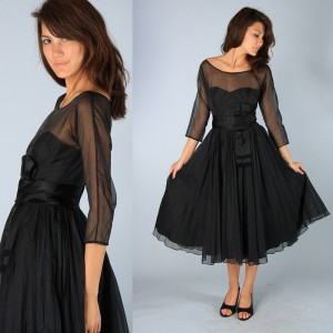 1. The Retro Vintage Dress
