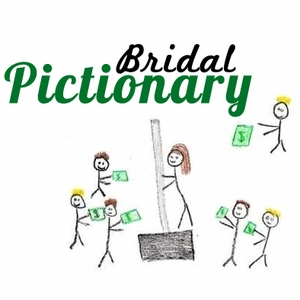 10. Bridal Pictionary