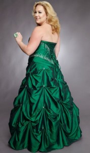 2. Corset Ball Gown