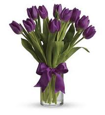 2. Purple Tulips