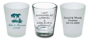 2. Shot Glass Favor