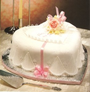 3. Heart Shaped Cake