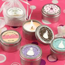 3. Scents and Candle Favors