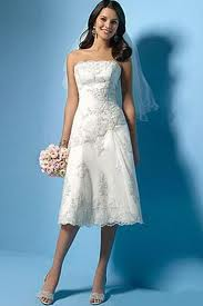 3. Short, Strapless Lace Gowns are Great for Summer