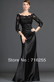 3. Three Quarter Sleeved floor Length Dress for Winter