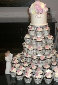 4. A Tower of Cupcakes