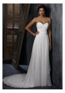 5.  The Sweetheart Corset Wedding Dress