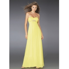 5. Yellow Maxi Dresses
