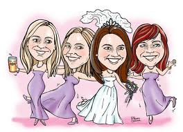 6. Cartoon Artists are Always a Hit for Wedding Entertainment