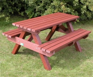6. Picnic Benches