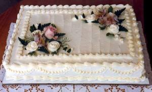 6. Sheet Cake
