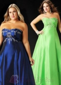 7. A-Line Prom Dress