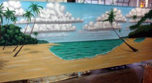 8. Beach Backdrops