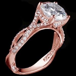 9. Braided Engagement Rings