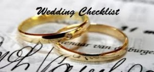 Ten Last Minute Wedding Day Checklist Items