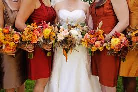 Bridesmaids Dresses For A Fall Wedding Fall bridesmaid dresses are