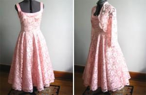 1. A Vintage Style Dress
