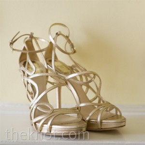 1.Strappy Heels