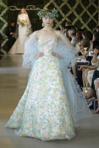 OSCAR DE LA RENTA BRIDAL SS13 NEW YORK 04/16/12
