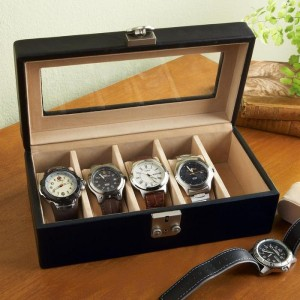 2. Leather Watch Case
