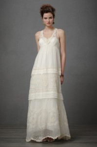 4. Bohemian Wedding Gown