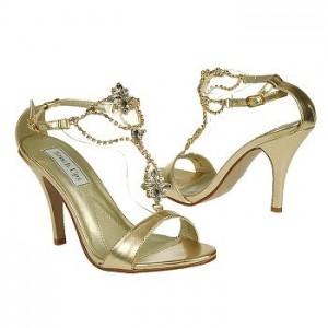 4. Gold Sandals