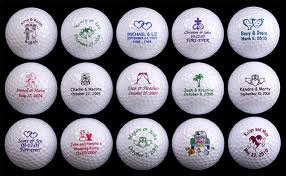 5. Wedding Golf Balls