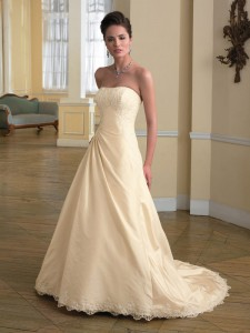 7. Mock Wedding Dress
