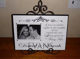 9. Custom Wedding Photograph Frame