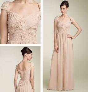 9. Grecian Bridesmaid Dress