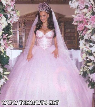10 Most Romantic Pink Wedding Dresses