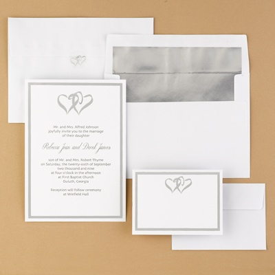 You Can Choose A Simple Yet Elegant Kit For Your Wedding Invitations With  Foil Lined Envelopes. The Designs Of The Invitations Can Vary As Well As  The Color ...