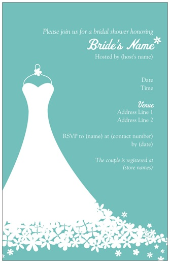 Bridal Shower Invitations Templates Free Download A free and unique ...