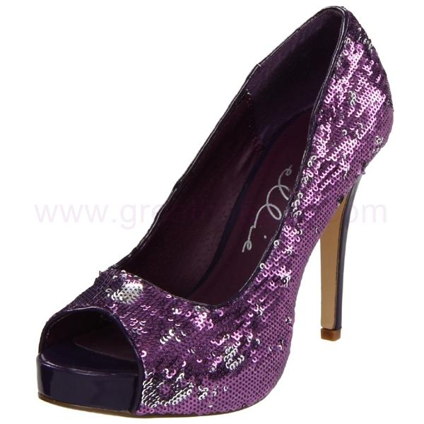 Our Ten Favorite Purple Wedding Shoes