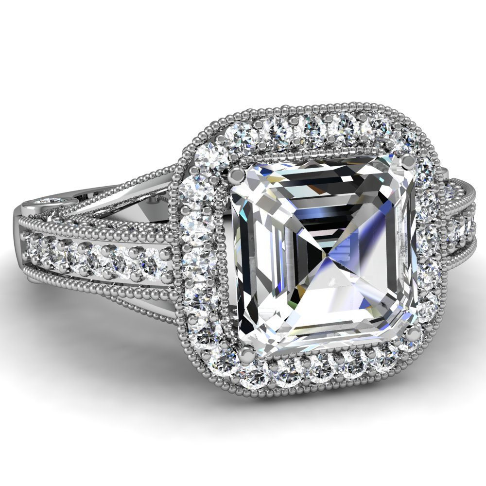 Ten Amazing White Sapphire Engagement Rings Bestbride101