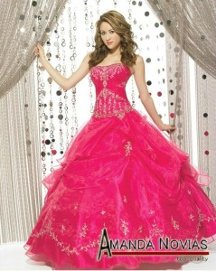 Ball_gown_hot_pink_wedding_dress_with