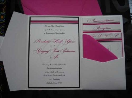 Wedding Pocketfold Invitations: 10 Creative Wedding Invitation Kits