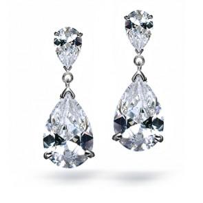 double-teardrop-dangle-earrings
