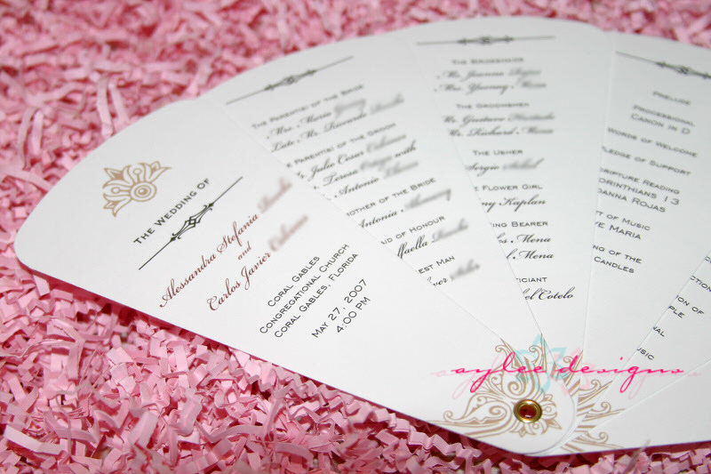 Ten Best Wedding Program Templates