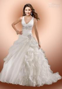 glamorous-new-sexy-ball-gown-vneckline-spaghetti