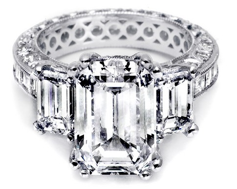Ten Beautiful Emerald Cut Engagement Rings Bestbride101