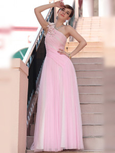 pink-one-shoulder-floor-length-formal-dress