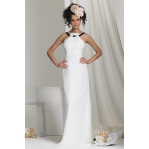 simple-sheath-halter-floor-length-chiffon-wedding-dress-for-bride