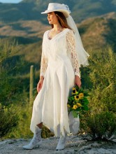 Top Ten Beautiful Country Wedding Dresses for a Rustic Wedding