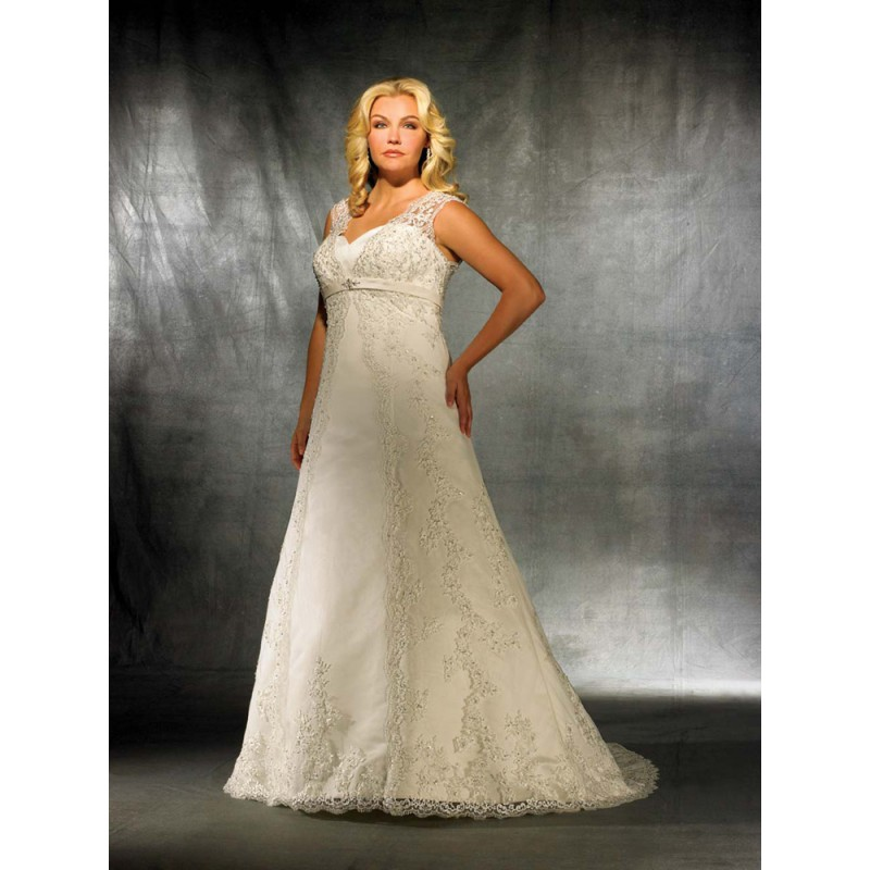 Ten Plus Size Lace Wedding Dresses That You Will Love Bestbride101