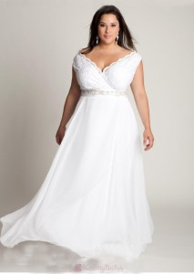 fabulous-a-line-v-neck-ankle-length-lace-embellishing-plus-size-wedding-dress-w1790