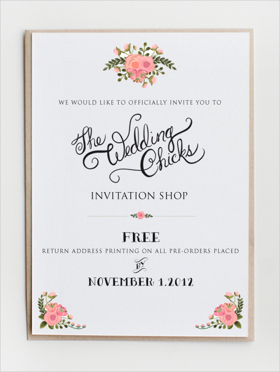 Top Ten Websites That Offer Free Printable Invitations