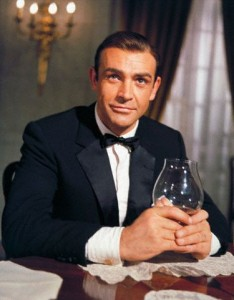 Sean Connery as James Bond in