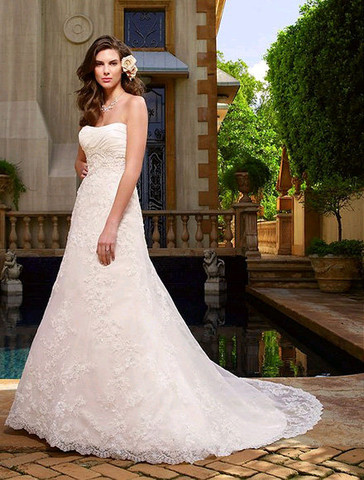 Casablanca Plus Wedding Dress 207